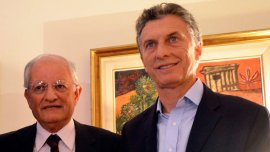 Abel Albino junto a Mauricio Macri