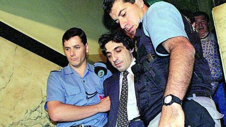 Fructuoso Álvarez González, arrestado tras asesinar a la familia Bagnato y a Nicolás Borda