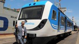 Llegaron 30 coches para el ferrocarril Belgrano Sur