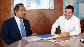 Daniel Scioli se reunió con Miguel Galuccio y se diferenció de Cambiemos con respecto a YPF
