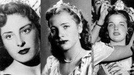 Francisca Jahan Pesetti se consagró Reina Nacional de la Vendimia en 1952