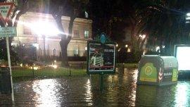 Muchos barrios de la Ciudad están afectados por las fuertes lluvias