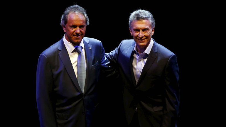 Scioli y Macri, dos compadritos que sueñan con la presidencia