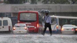 El SMN prevé lluvias hacia la noche del sábado