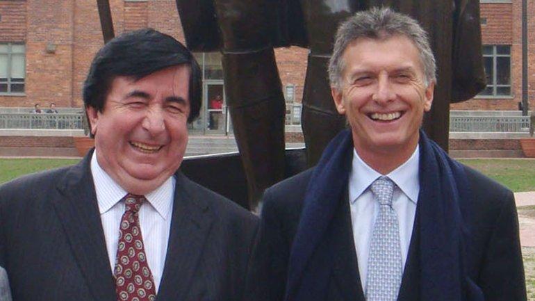 Mauricio Macri junto a su asesor Jaime Duran Barba