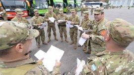 El Comando Nacional Electoral coordina la tarea de unos 100 mil efectivos