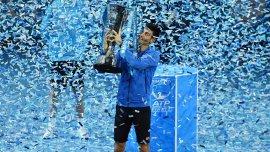 Djokovic logró su quinto título en el Masters.