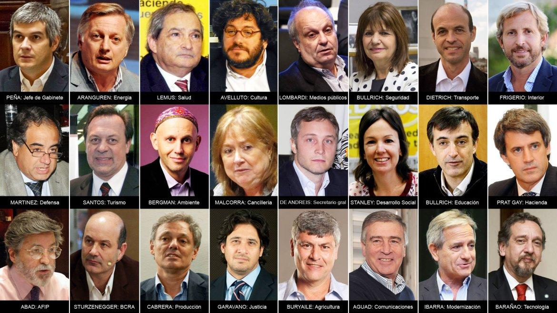 El flamante gabinete de Mauricio Macri - Taringa!