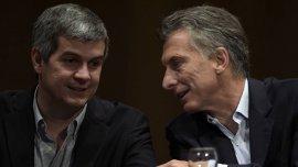 Marcos Peña acompaña a Mauricio Macri desde que comenzó su carrera política