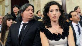 Máximo Kirchner y Rocío García