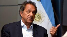 Daniel Scioli cuestionó los elogios de Mauricio Macri sobre Sergio Massa.