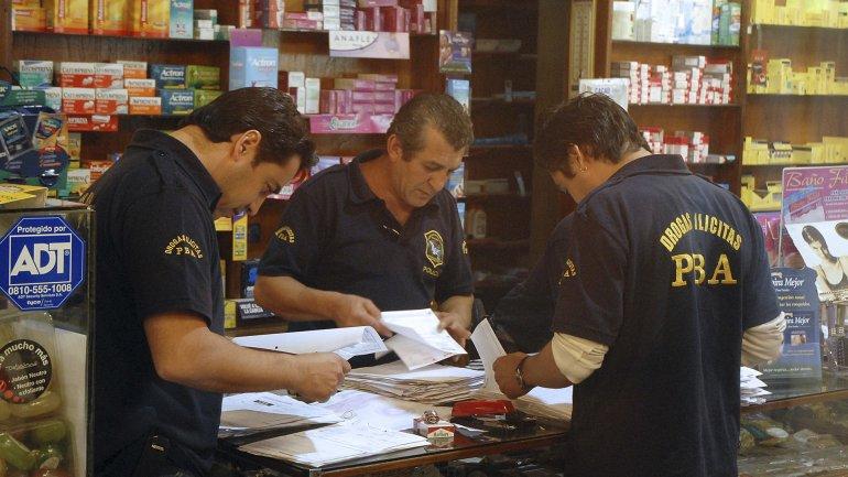 Operativo contra el narcotráfico (Imagen de archivo)