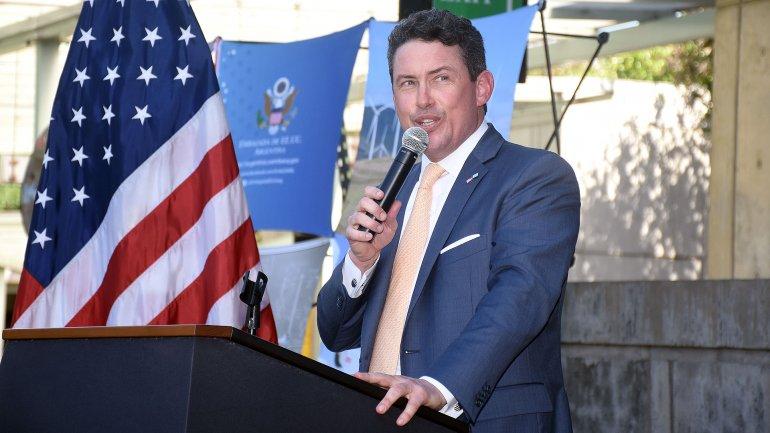 El embajador de los Estados Unidos en Buenos Aires, Noah Mamet