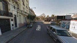 El hecho se produjo en San Cristóbal, a metros de la avenida Entre Ríos
