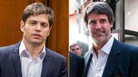 Axel Kicillof se reunió hoy con Alfonso Prat Gay en el Ministerio de Economía