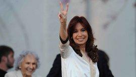 Cristina Kirchner, en su último acto en la ex ESMA
