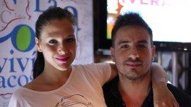 Federico Bal y su novia Barbie Vélez