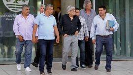 Hugo Moyano, tras reunirse con Mauricio Macri esta semana.