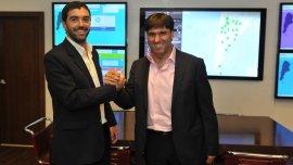 Emilio Basavilbaso y Diego Bossio mantuvieron una reunión cordial