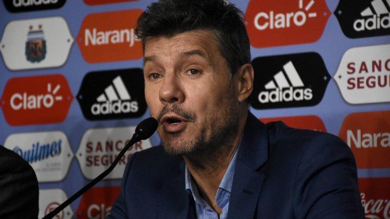 Marcelo tinelli abandona la AFA