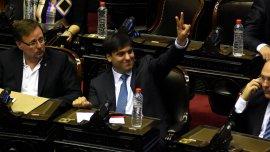 Diego Bossio fue uno de los principales impulsores de la fractura del bloque del FpV en Diputados