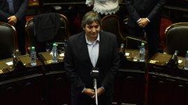 Ayer, Máximo Kirchner juró como diputado en el Congreso nacional por los que nunca aflojaron, no aflojan, ni van a aflojar.