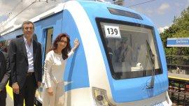 Randazzo participó del penúltimo acto de Cristina Kirchner como Presidente