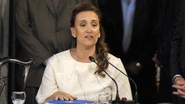 La vicepresidente Gabriela Michetti sobre la presencia de Alicia Kirchner: No me sorprendió, nos había dicho que quería estar
