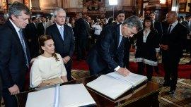 Gabriela Michetti defendióel nombramiento en comisión deCarlosFernando RosenkrantzyHoracio Daniel Rosatti