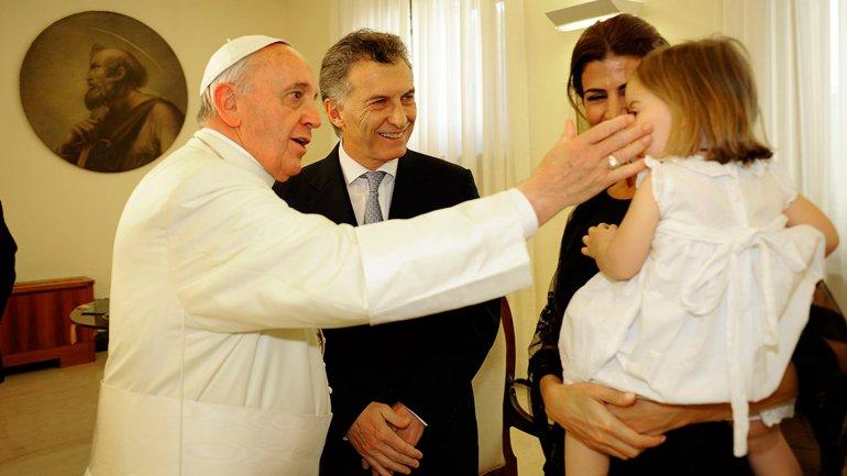 El papa Francisco recibió a Mauricio Macri cuando era jefe de Gobierno porteño