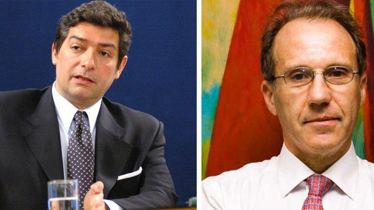 Horacio Rosatti (izquierda) y Carlos Rosenkrantz (derecha)