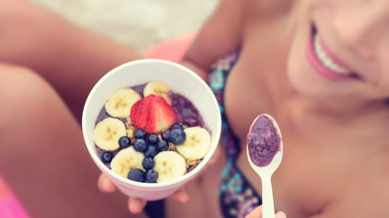 Frutas y yogur: claves en la dieta para bajar de peso