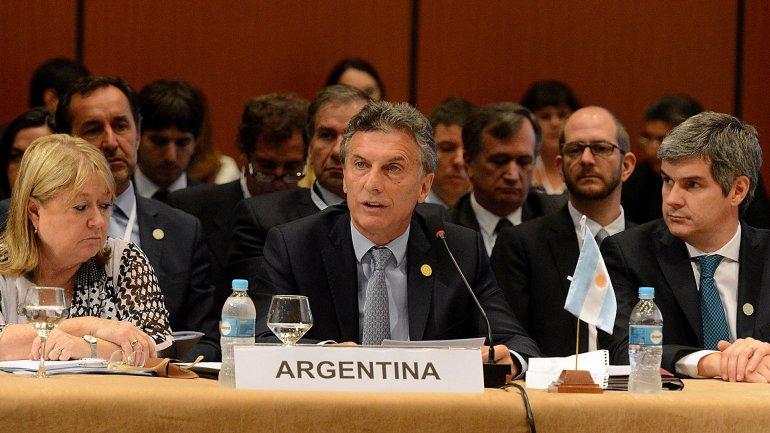 Mauricio Macri tuvo su estreno internacional en la cumbre del Mercosur