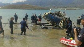 El operativo para localizar los restos del avión