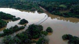 Las aguas bajaron en algunas localidades de Entre Ríos