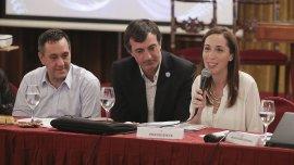 María Eugenia Vidal y Esteban Bullrich encabezaron la jornada