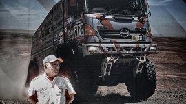 Sugawara y su camión.