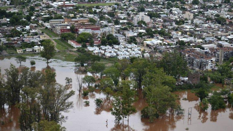 Concordia, la ciudad más afectada en la Argentina
