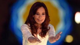 Cristina Kirchner publicó el saludo en su cuenta de Instagram