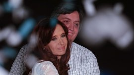 Máximo Kirchner: Cristina es una militante política