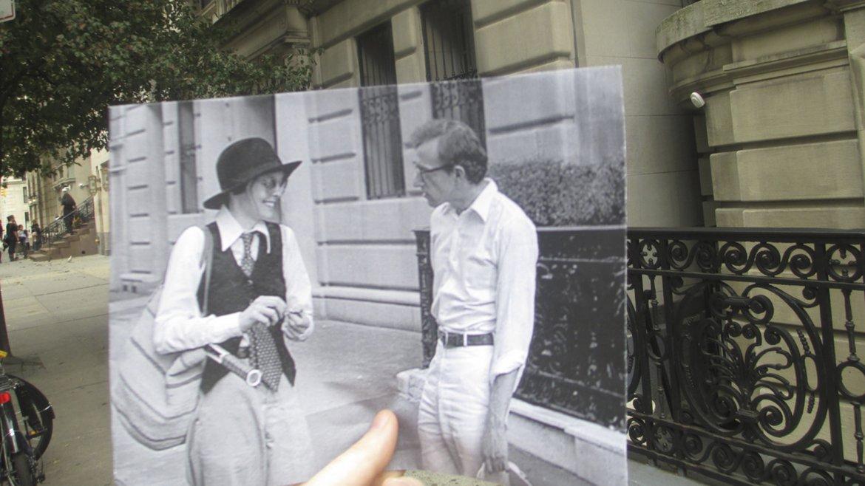 Diane Keaton y Woody Allen en Annie Hall