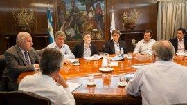 Reunión de trabajo en Economía para definir las pautas de gastos para 2016