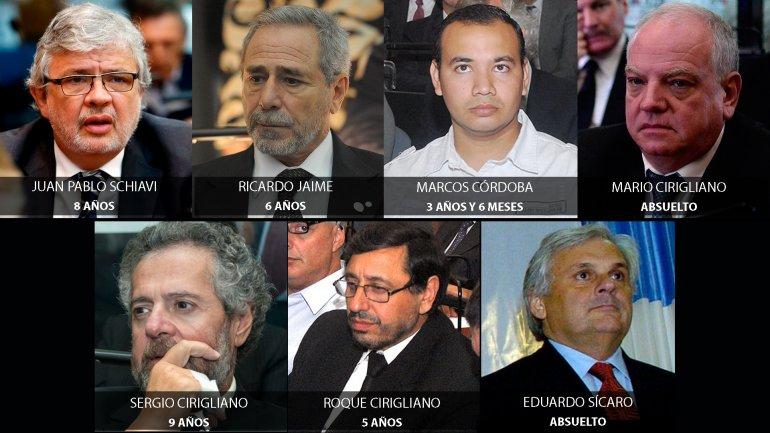ElTribunal Oral en lo Criminal Federal N° 2 de la Ciudad impuso penas de hasta 9 años de cárcel para los acusados por la tragedia de Once.