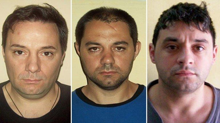 La foto de Interpol actualizada: Martín Lanatta, Víctor Schillaci y Christian Lanatta