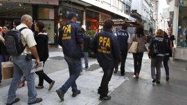 Operativo de al división Fraudes Bancarios de la Policía Federal (Imagen de archivo)
