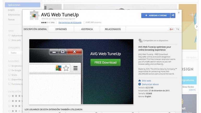 AVG, en la mira por AVG Web TuneUP