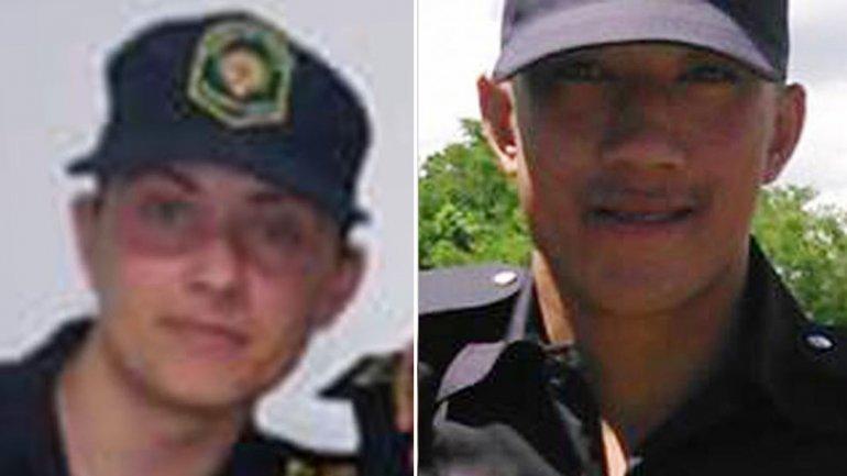 Lucrecia Yudati y Fernando Pengsawath, los dos policías baleados por los hermanos Lanatta y Schillaci