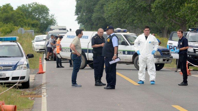 Operativo policial en la ciudad de Ranchos