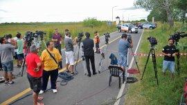 El operativo policial para dar con los prófugos se concentra en la localidad de Ranchos