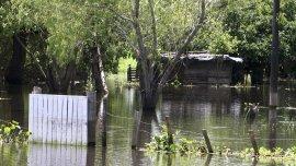 Sigue la crecida del río Paraná